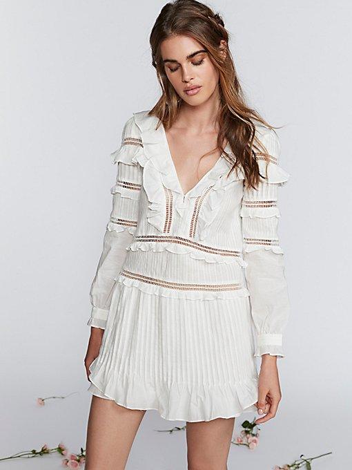 Product Image: Ziggy Pintuck Mini Dress