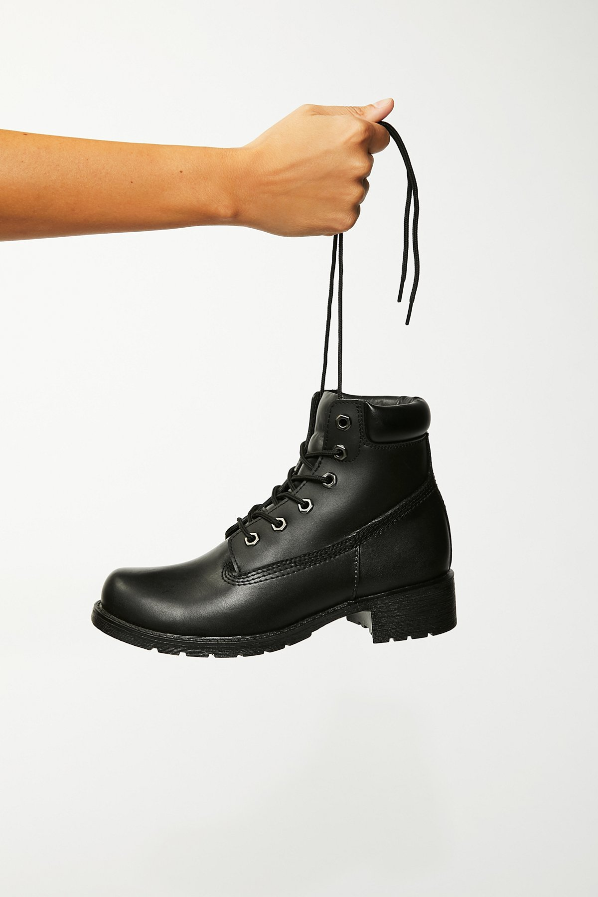 Deluge Lace-Up Boot
