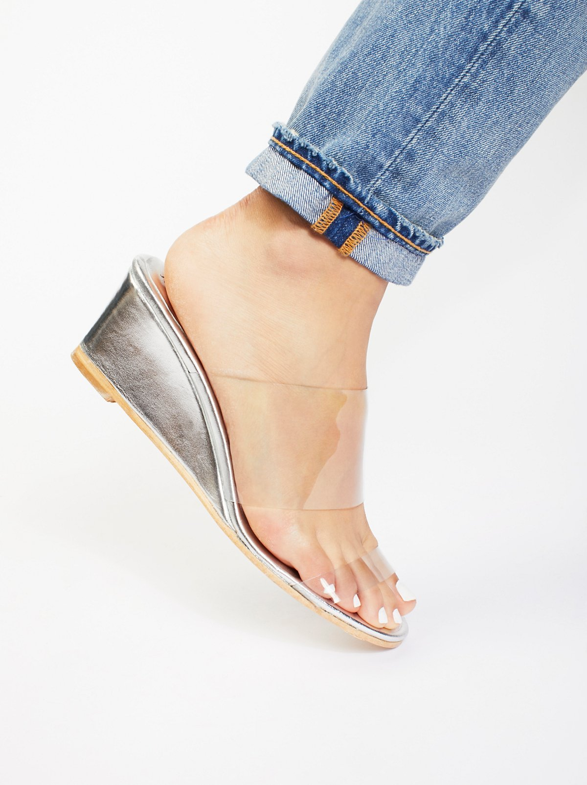 Dewan坡跟凉鞋