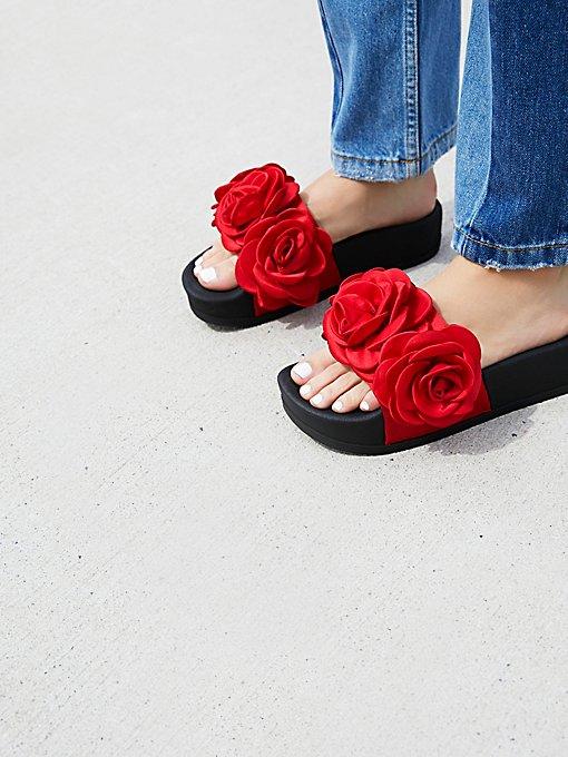 Product Image: Eddie Rose厚底凉鞋