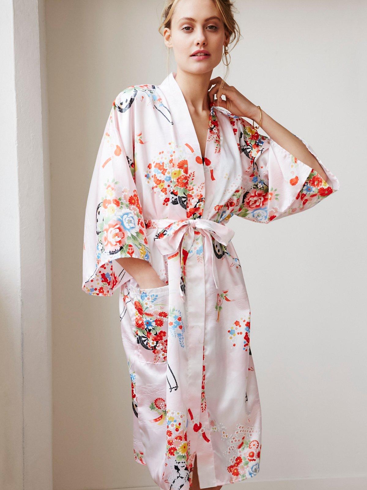 Vintage 1980s Kimono