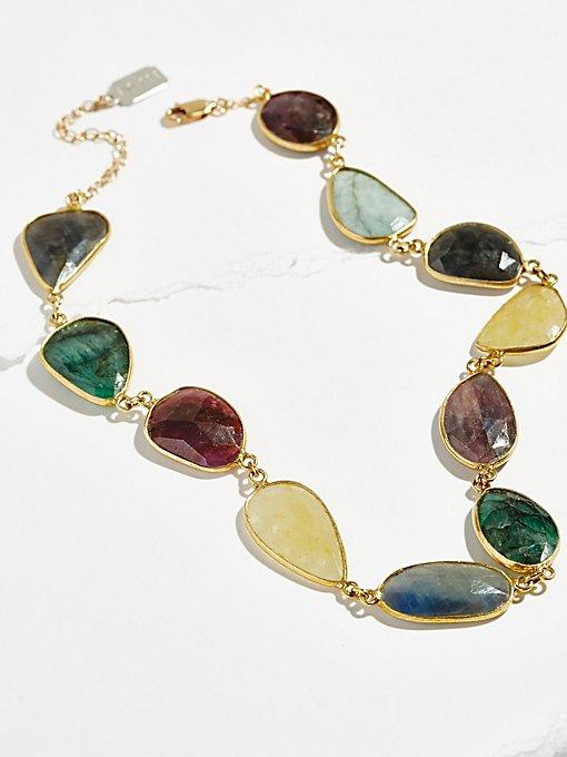 Product Image: Rainbow Sadie Stone Choker