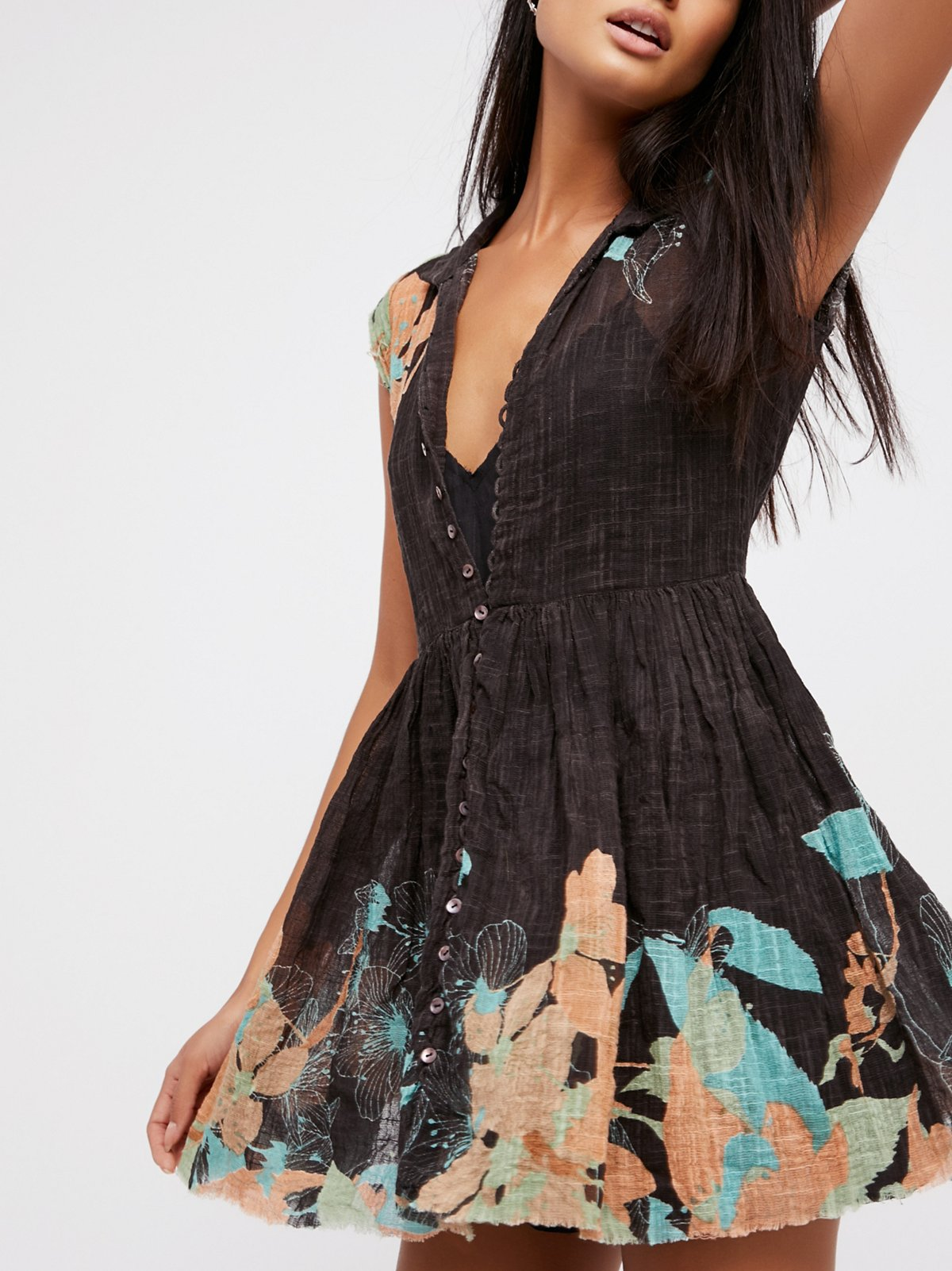 FP One Papercut Shirt Dress