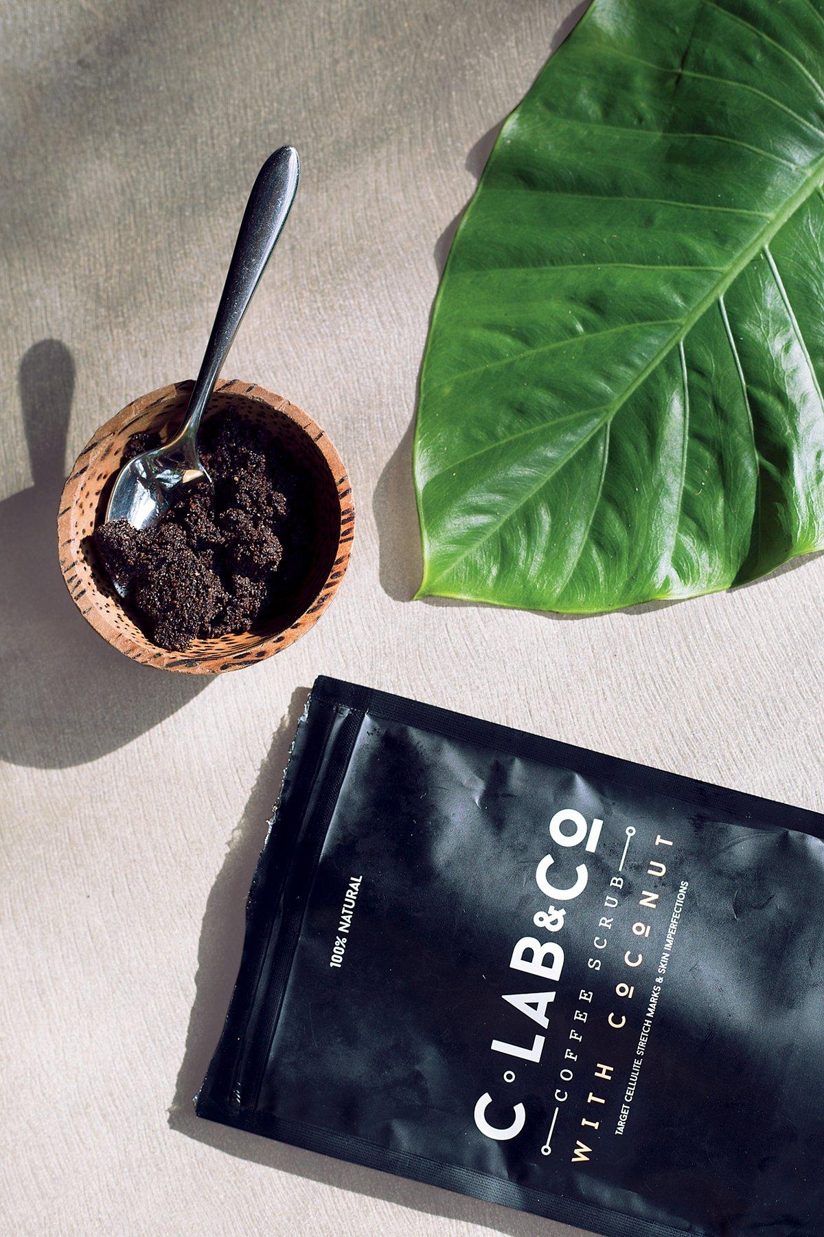 C Lab & Co Coffee + Coconut Scrub Travel Pack