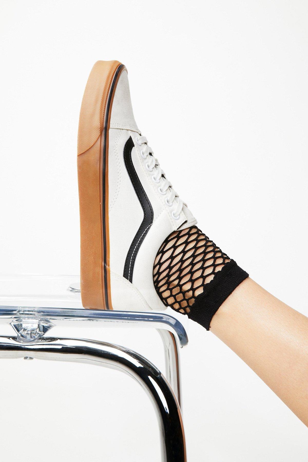 Mood Fishnet Anklet