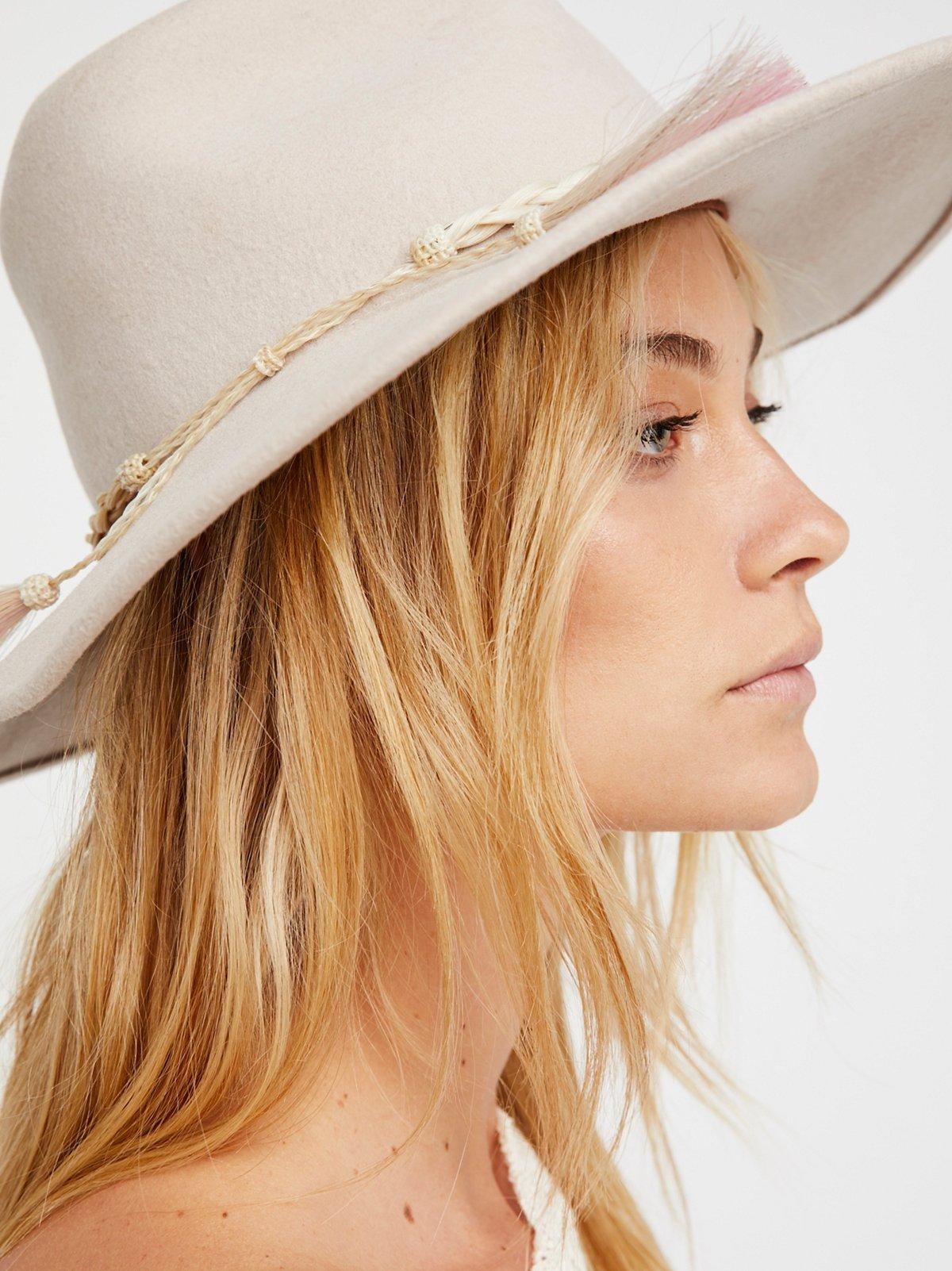 Janis Ombre Tassel Felt Hat