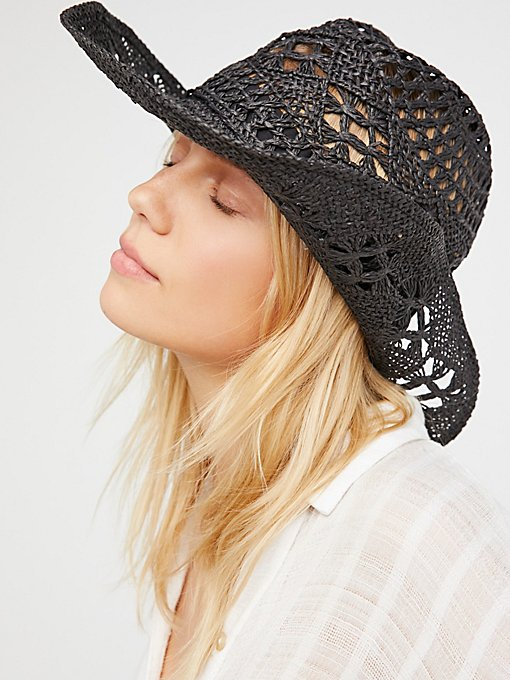 Product Image: Caballera Straw Cowboy Hat