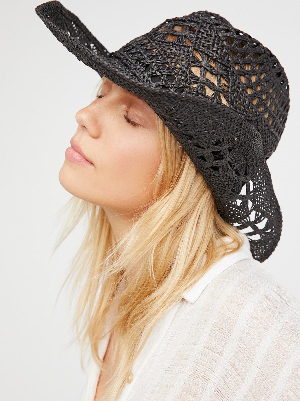 Caballera Straw Cowboy Hat