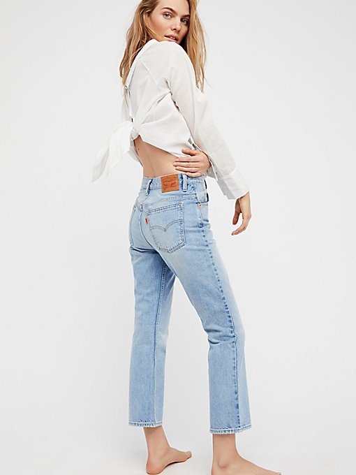Product Image: Levi's 517 Cropped Boot Cut Jeans