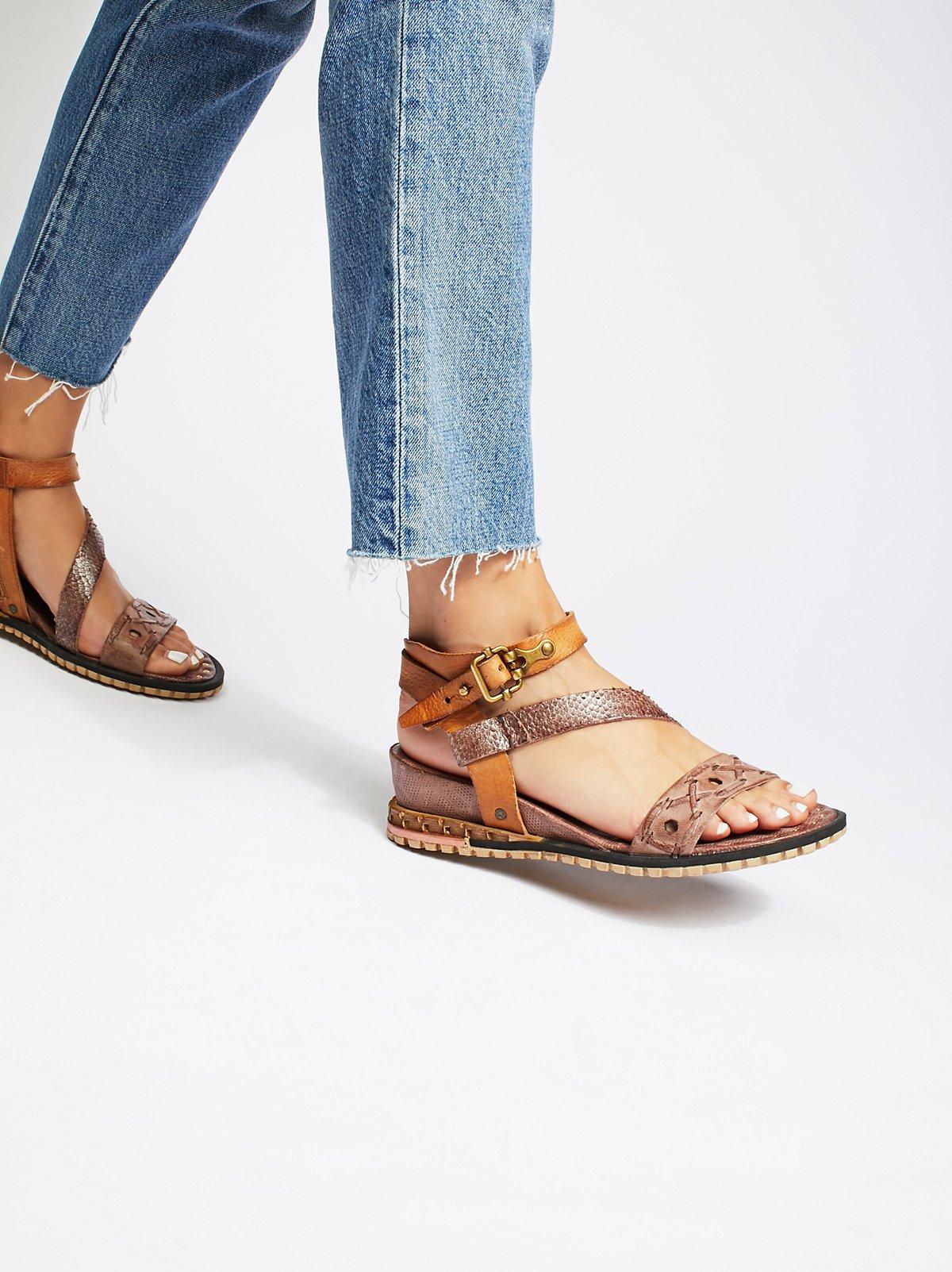 Tenley Mini Wedge Sandal