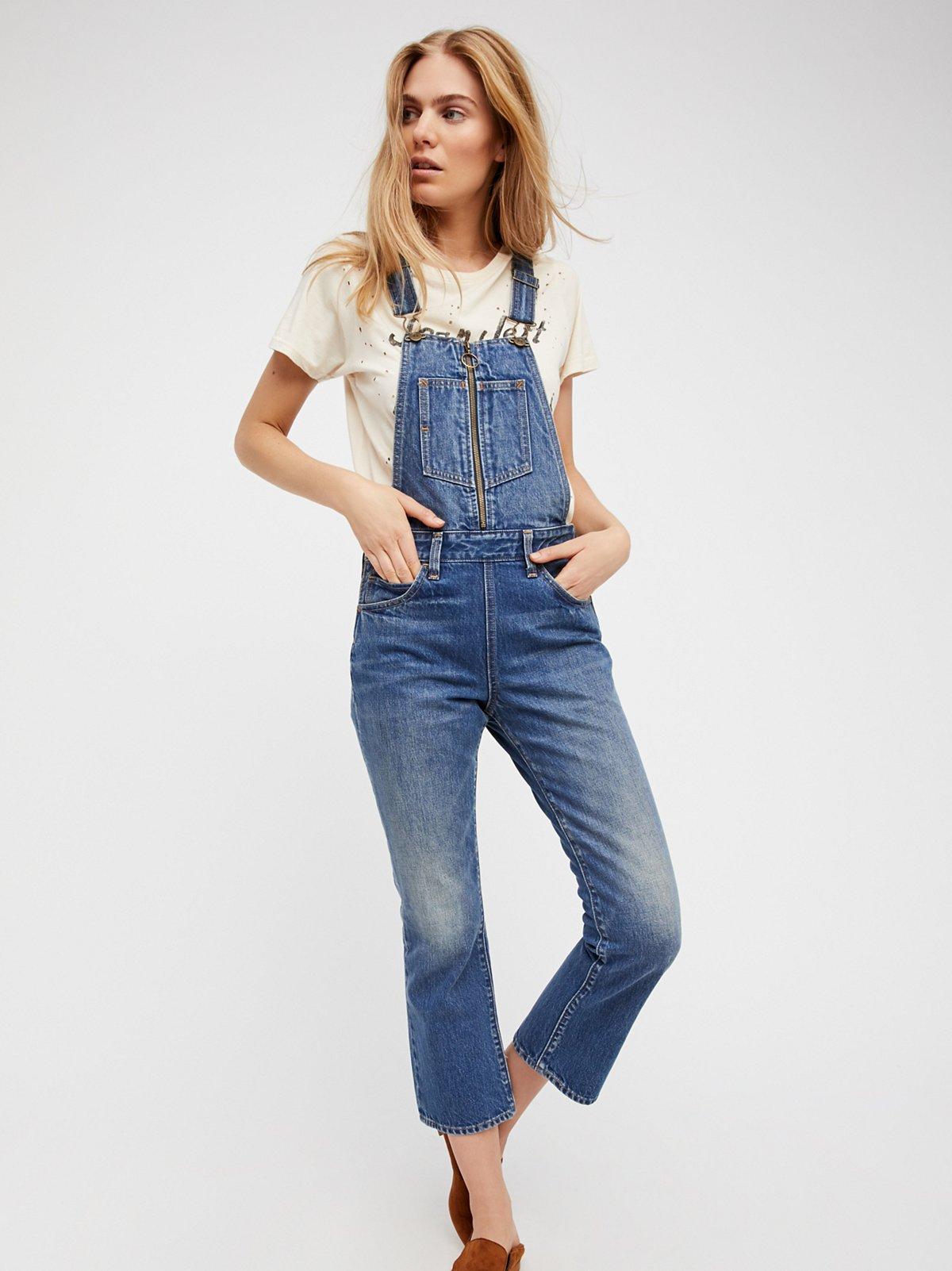 Womens Denim Overall Jeans - Xtellar Jeans