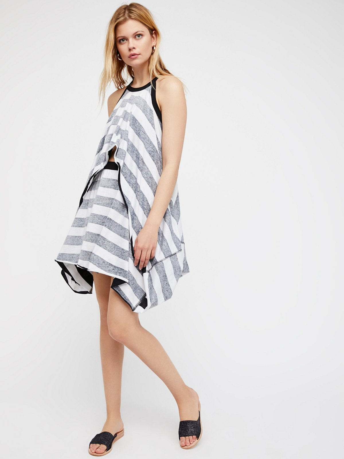 Bellina Dress Stripe