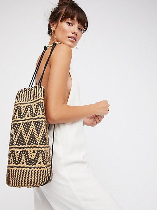 Product Image: Palma Rattan Backpack