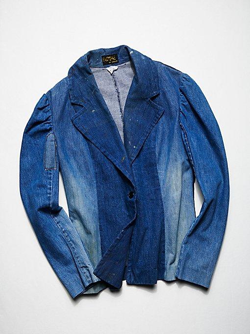 Product Image: Vintage 1970s Denim Blazer