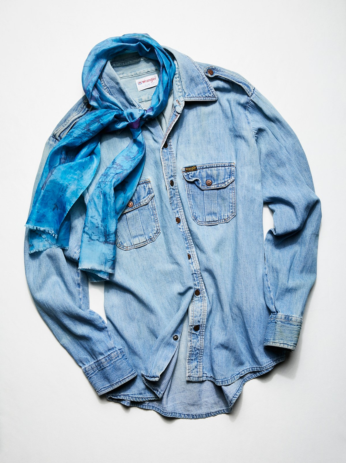 Vintage 1970s Denim Shirt