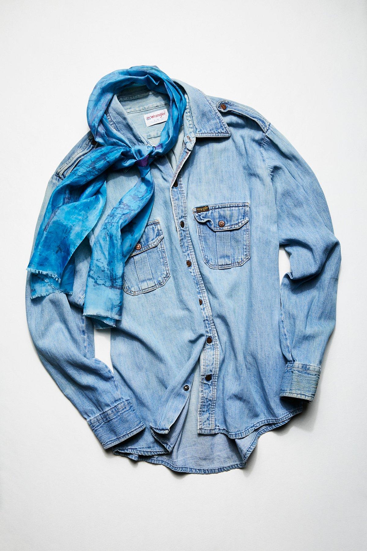 Vintage 1970s Denim Shirt