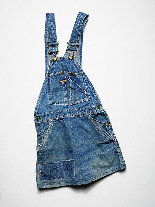 Product Image: Vintage 1970s Denim Overall Dress
