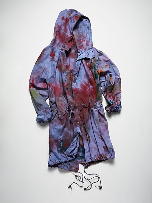 Product Image: Vintage 1970s Over Dyed Parka