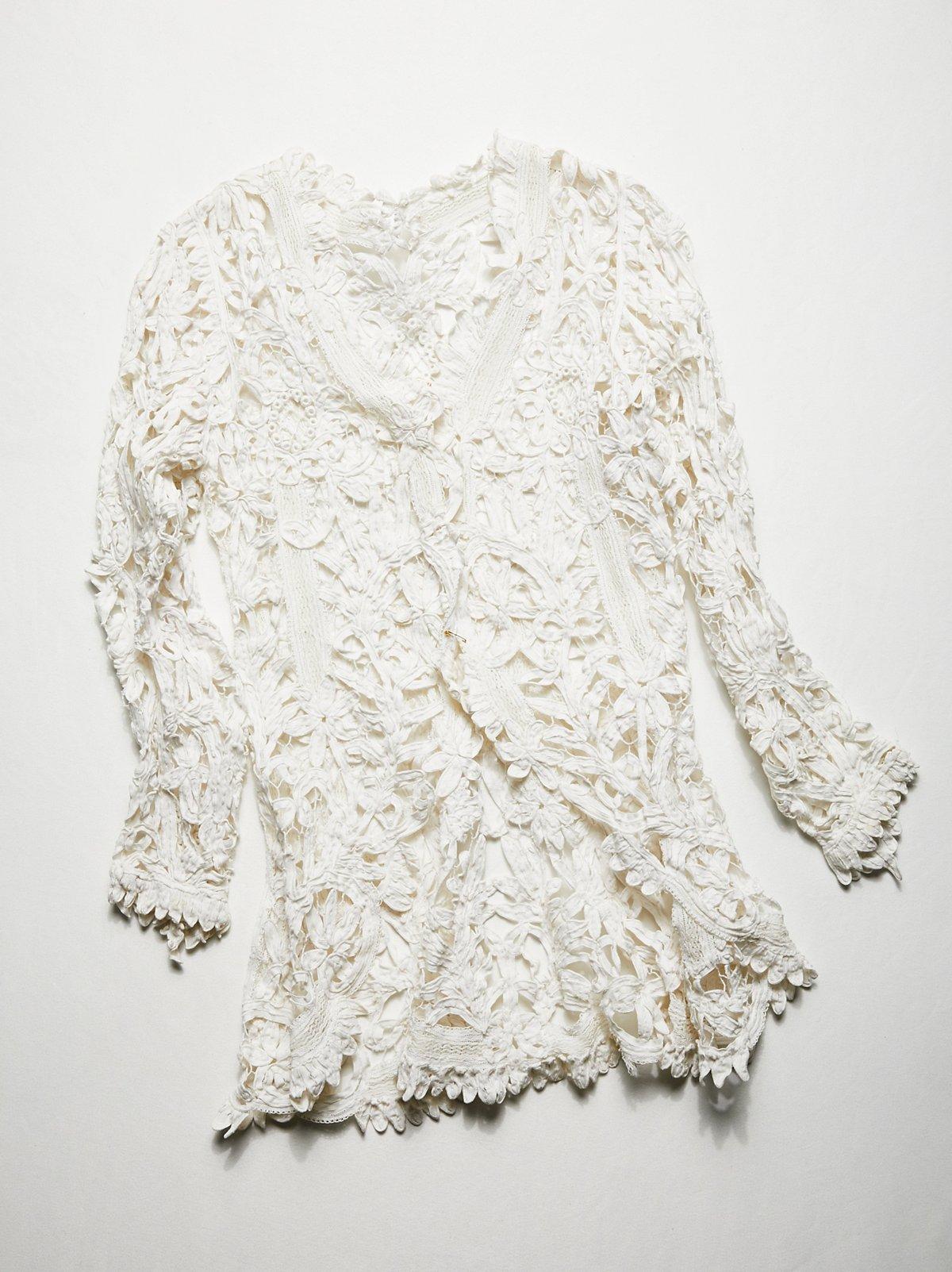 Vintage 1910s Lace Jacket