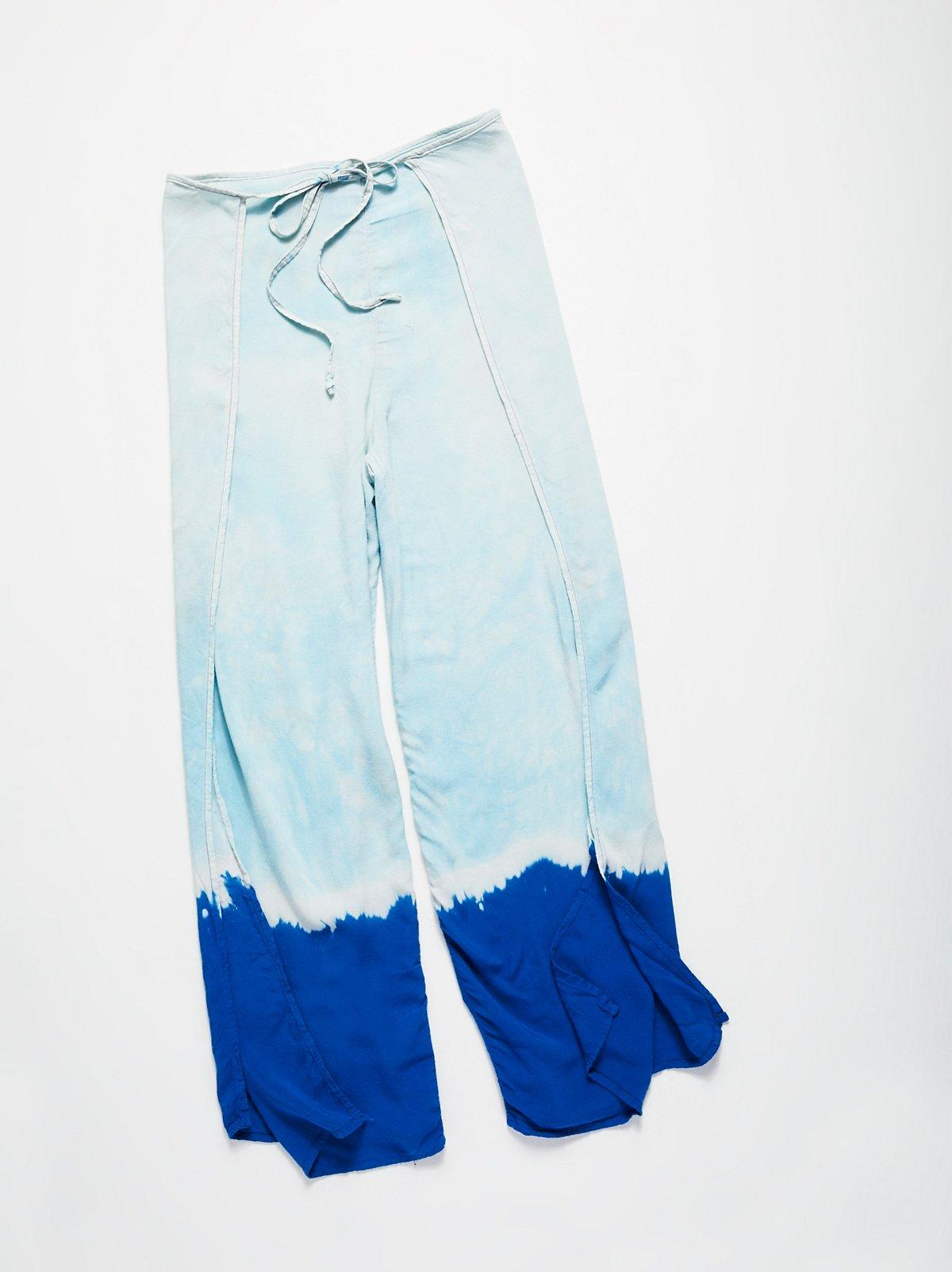 Vintage 1980s Wrap Pants