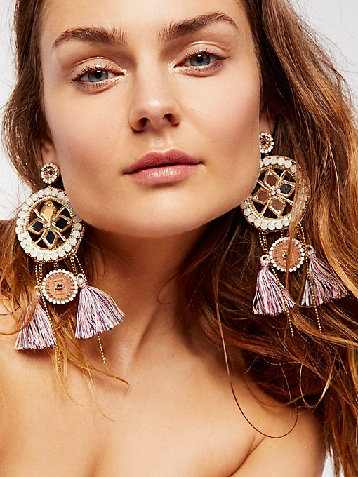 Product Image: Natura Mirror Statement Earrings