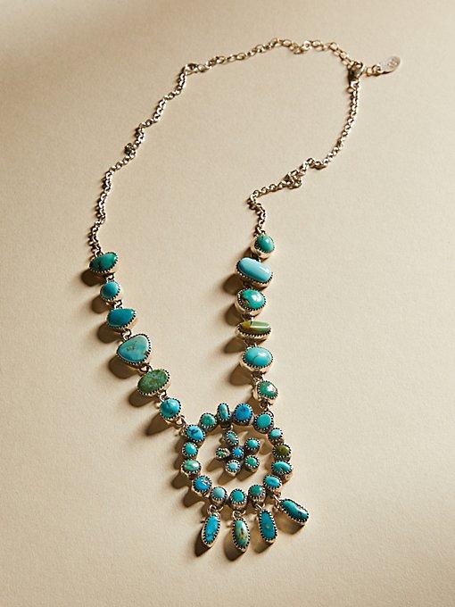Product Image: Turquoise Rose Pendant