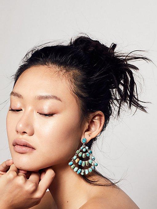 Product Image: 原石吊灯式耳环