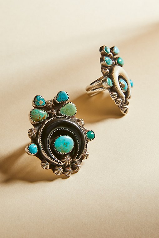 Product Image: Turquoise Horn Ring