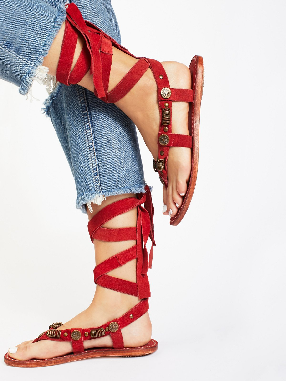 Saratoga Wrap Sandal