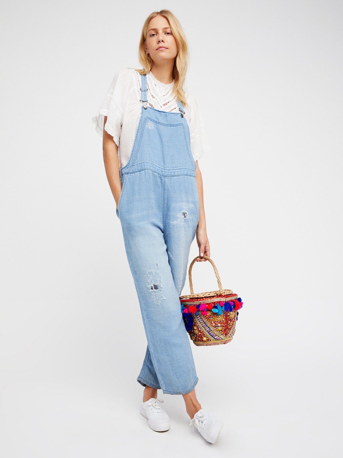Cute Denim Overalls for Women | Long & Short | Free People