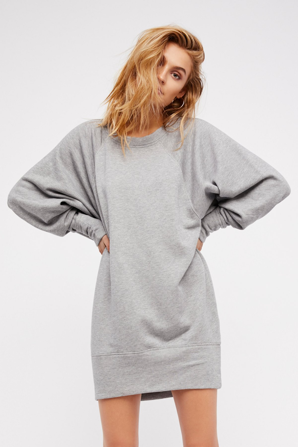Cozy Town Pullover Dress