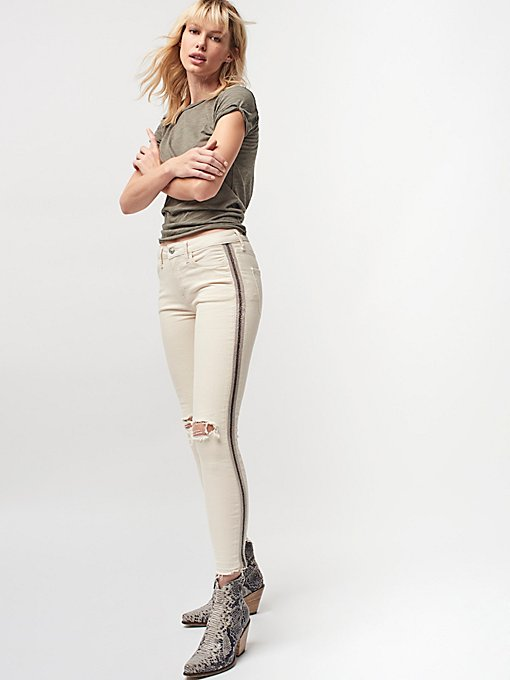 Product Image: Side Embellished Skinnies