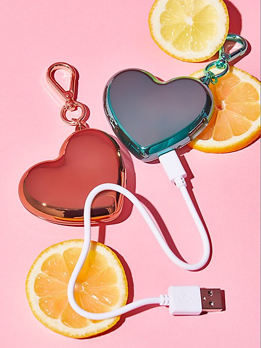 Product Image: Heart Charger Keychain