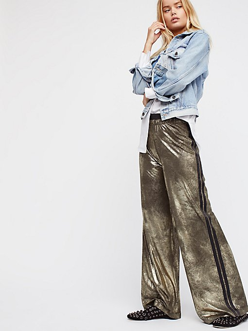 Product Image: Vegan Gold Track Pant