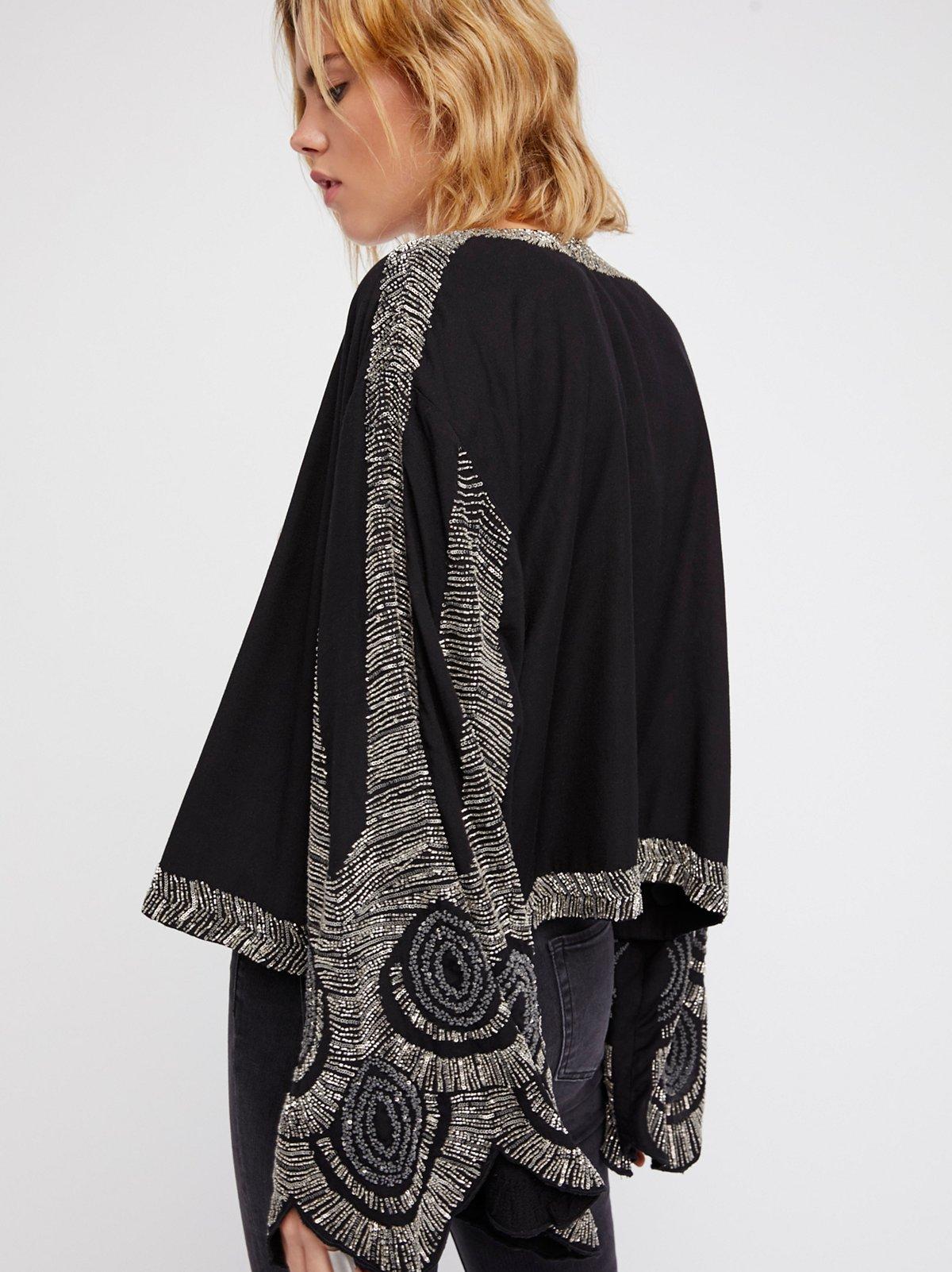 Feathered Kimono