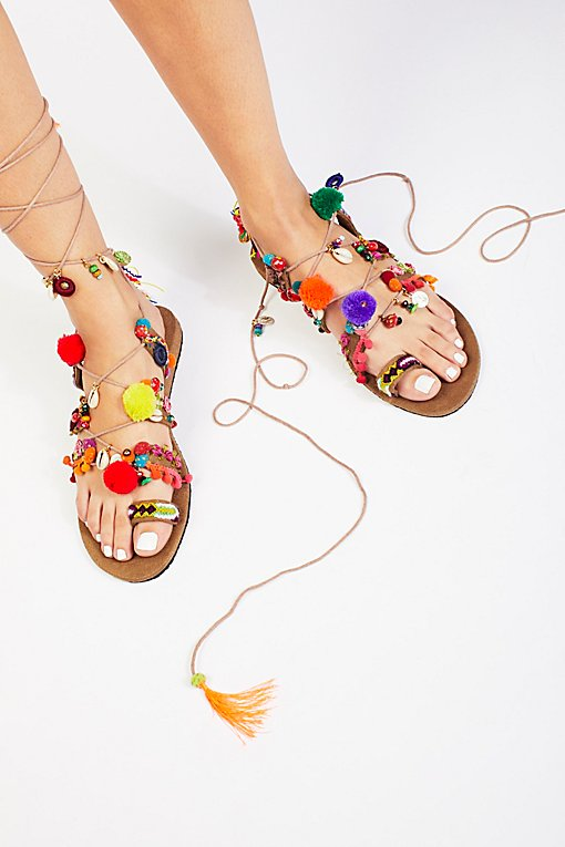 Product Image: Fools Gold Wrap Sandal