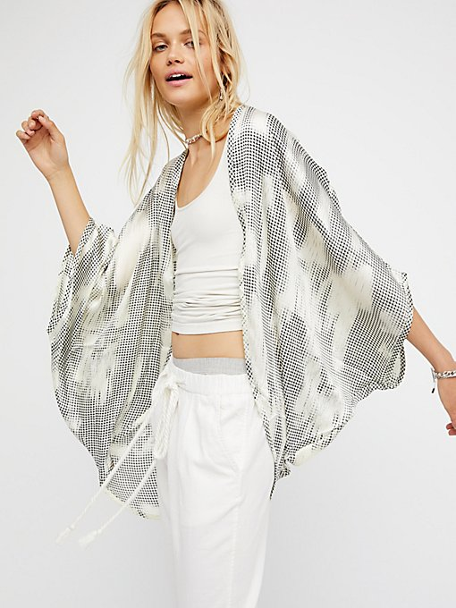 Product Image: Point Break Silky Kimono