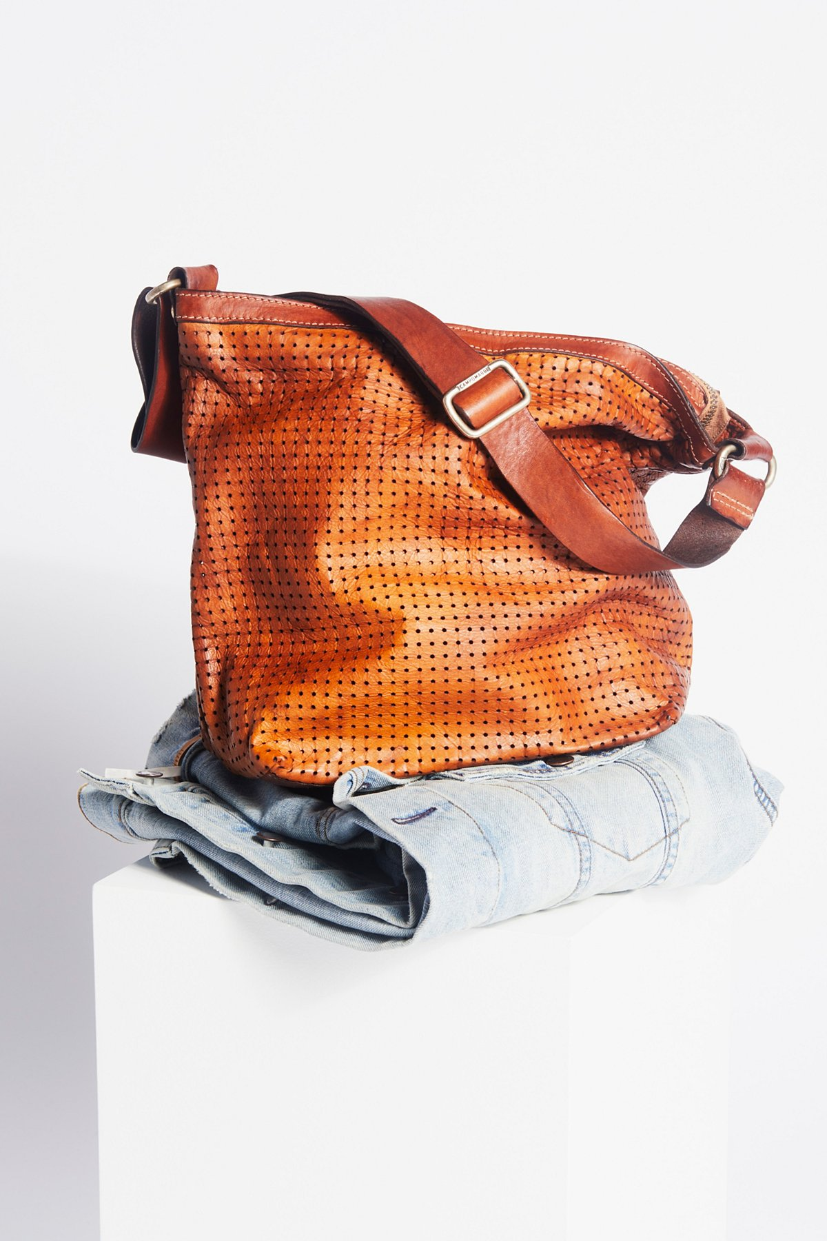 Modena Leather Hobo