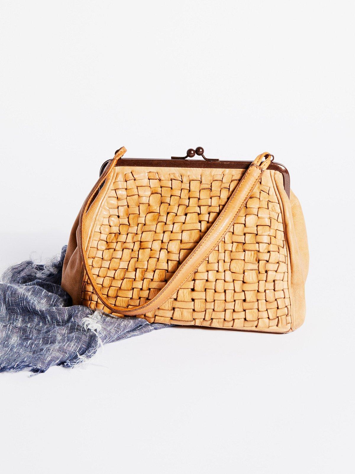 Alba编织提包