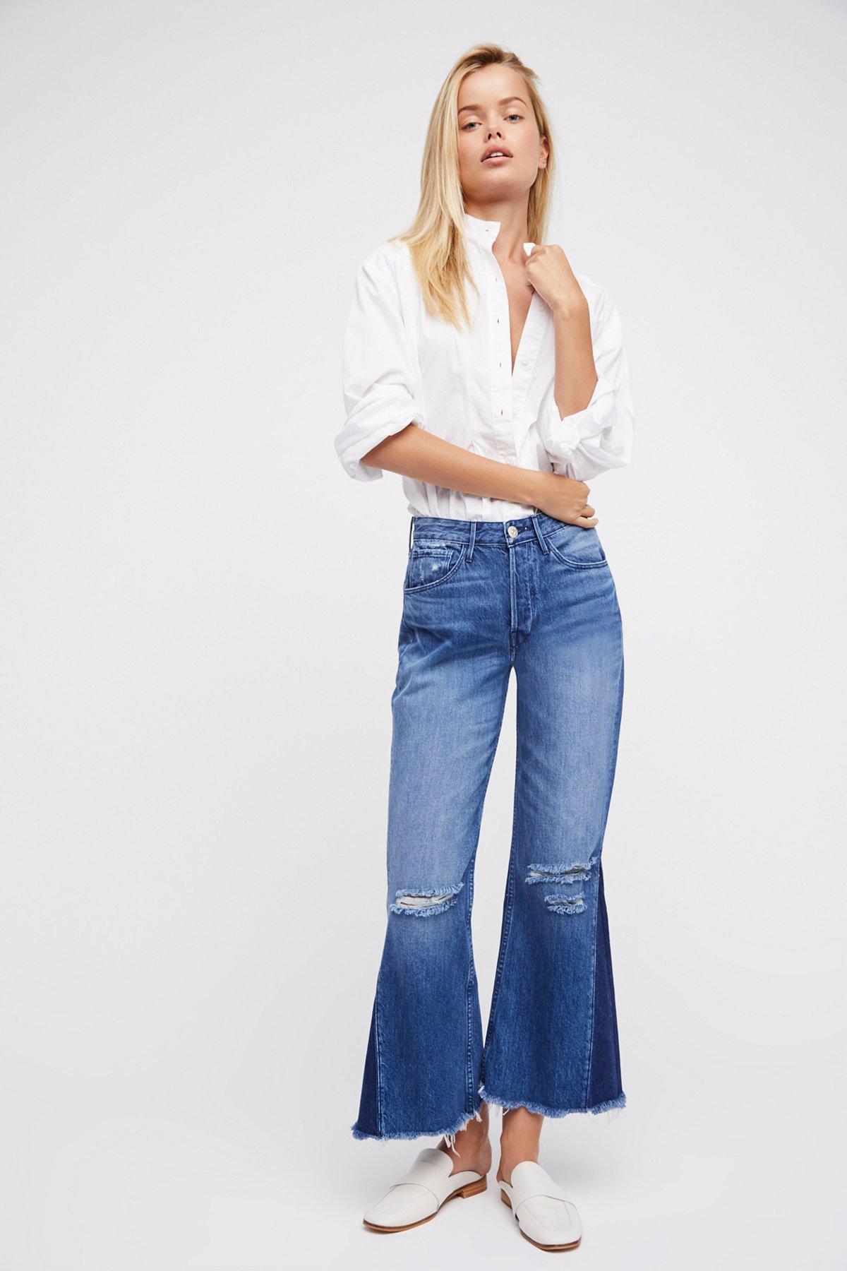 Higher Ground Gusset Crop Jeans