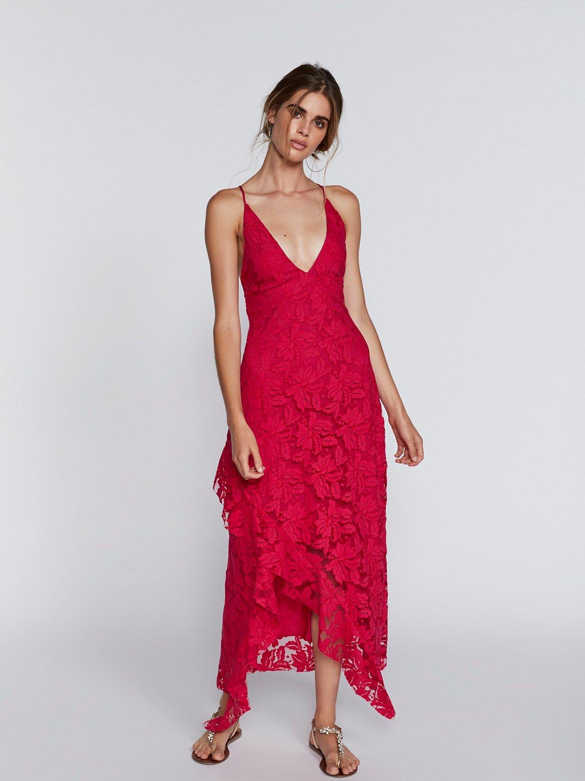 Zoe Lace Maxi Dress