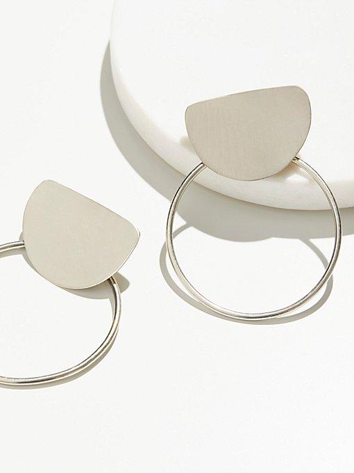 Product Image: Brass Knocker Hoops