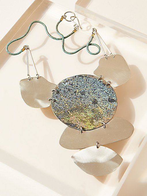 Product Image: Vertical Patina Pendant