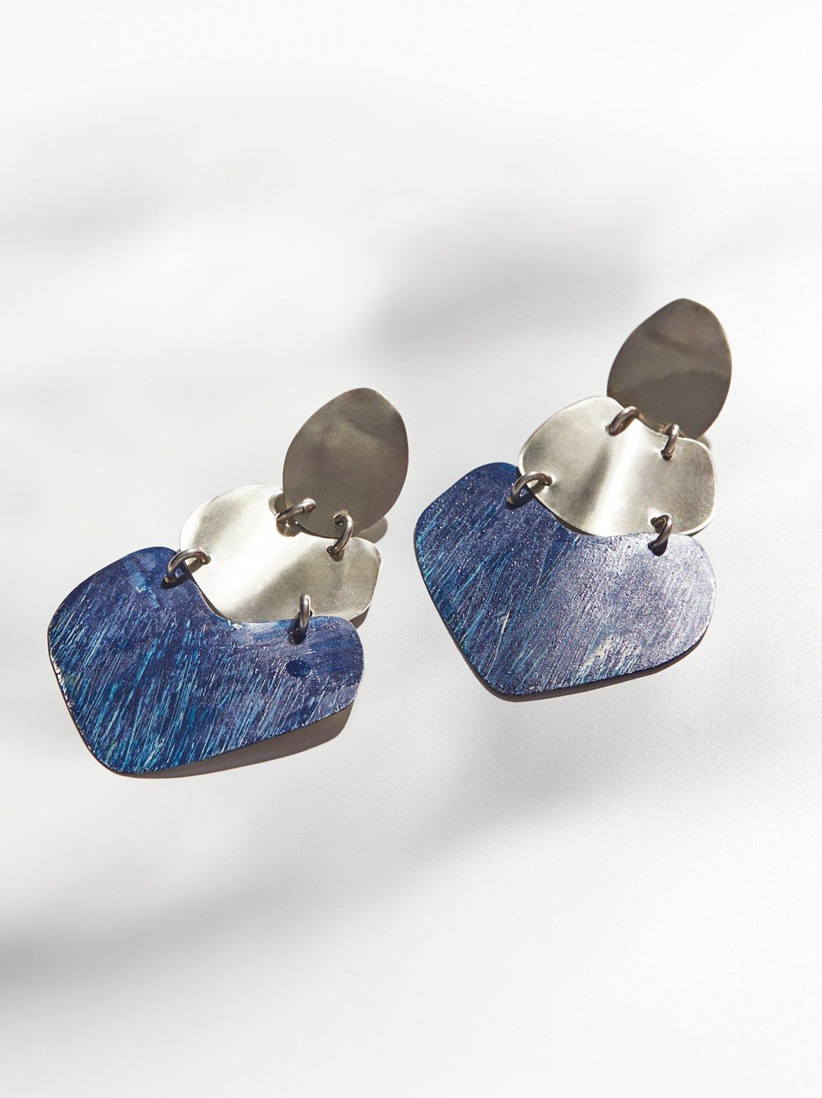 Patina Plate耳环