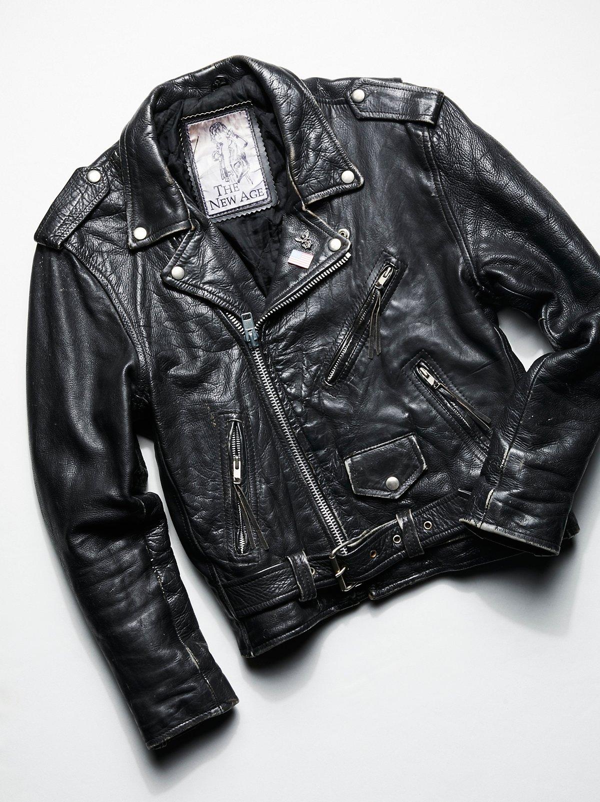 Vintage 1980s Moto Jacket