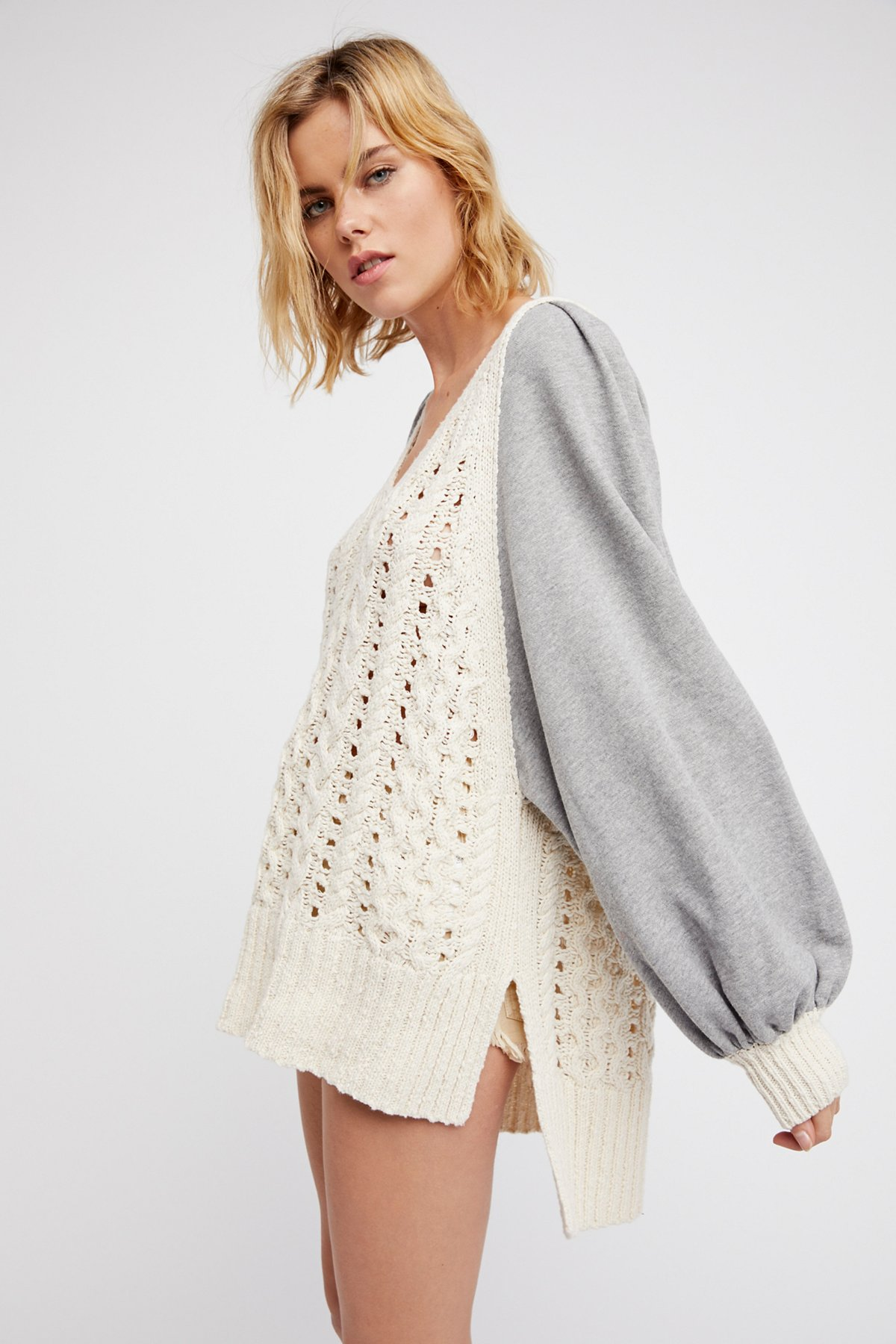 HIdeaway Cable Pullover