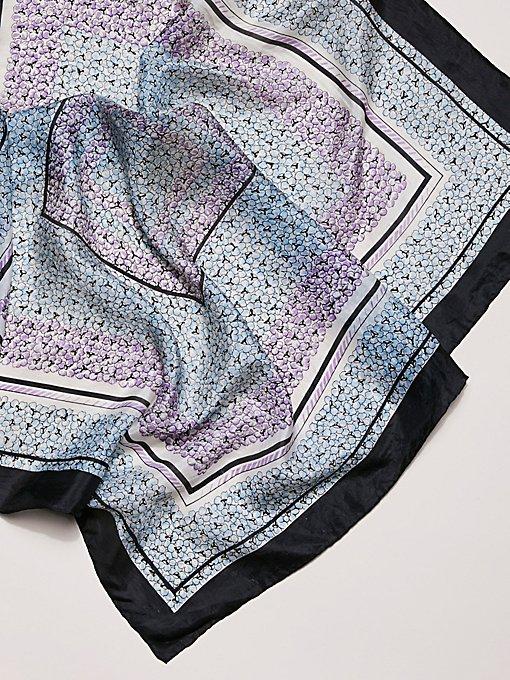 Product Image: Vintage Floral Silk Scarves