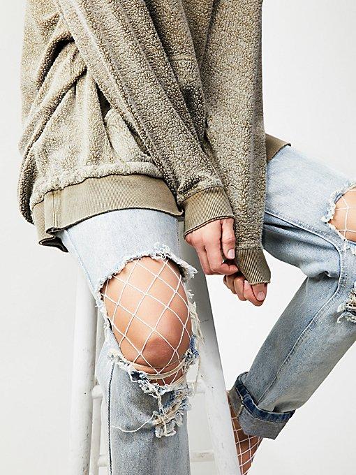Product Image: La Maison渔网紧身打底长袜