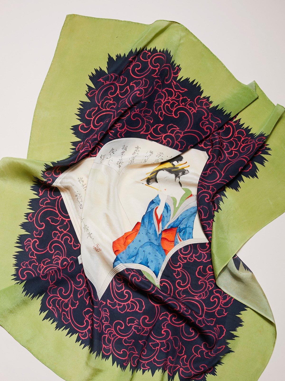 Vintage Novelty Silk Scarves