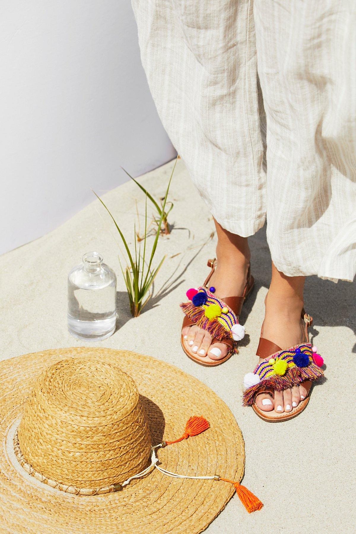 Sun Kissed凉鞋